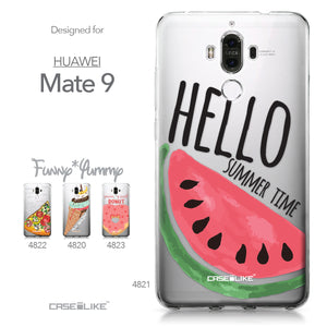 Huawei Mate 9 case Water Melon 4821 Collection | CASEiLIKE.com
