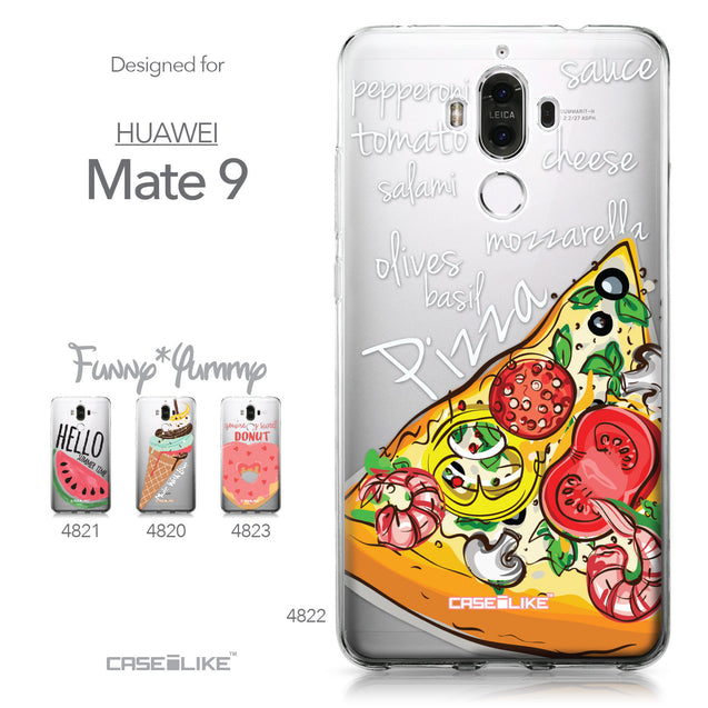 Huawei Mate 9 case Pizza 4822 Collection | CASEiLIKE.com