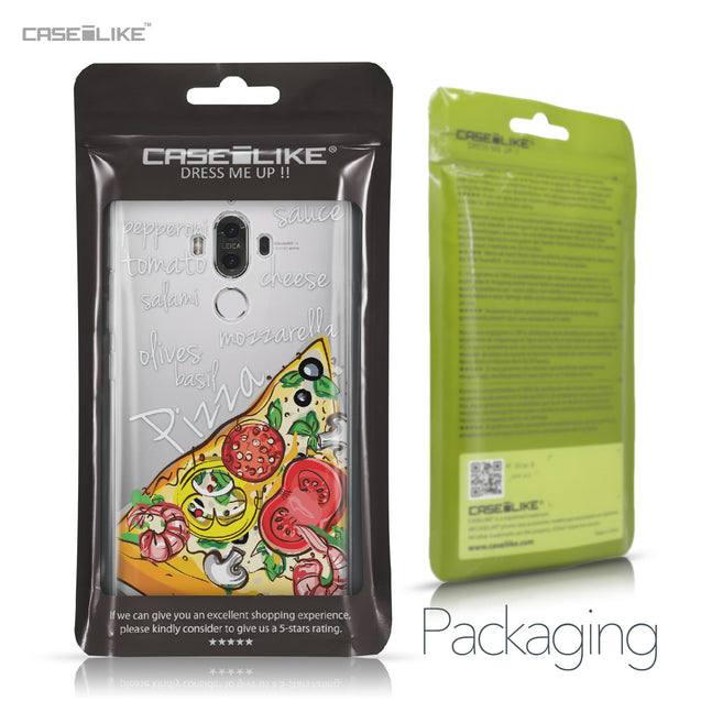 Huawei Mate 9 case Pizza 4822 Retail Packaging | CASEiLIKE.com