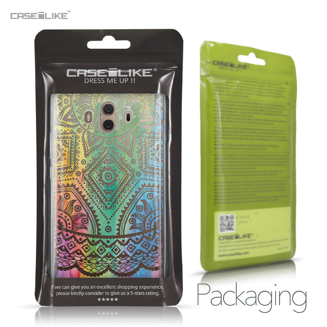 Huawei Mate 10 case Indian Line Art 2064 Retail Packaging | CASEiLIKE.com