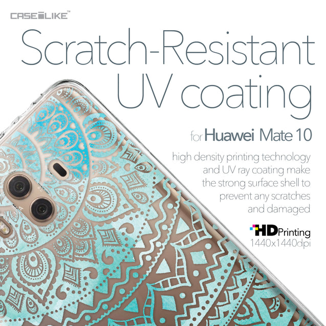 Huawei Mate 10 case Indian Line Art 2066 with UV-Coating Scratch-Resistant Case | CASEiLIKE.com