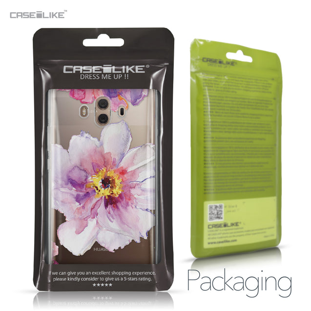 Huawei Mate 10 case Watercolor Floral 2231 Retail Packaging | CASEiLIKE.com