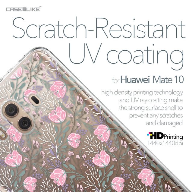 Huawei Mate 10 case Flowers Herbs 2246 with UV-Coating Scratch-Resistant Case | CASEiLIKE.com