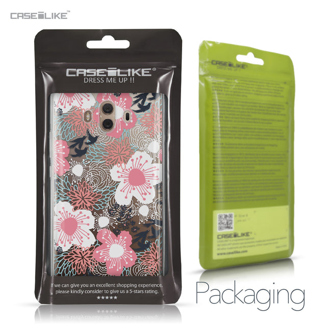 Huawei Mate 10 case Japanese Floral 2255 Retail Packaging | CASEiLIKE.com