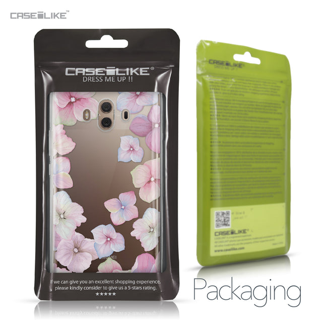 Huawei Mate 10 case Hydrangea 2257 Retail Packaging | CASEiLIKE.com