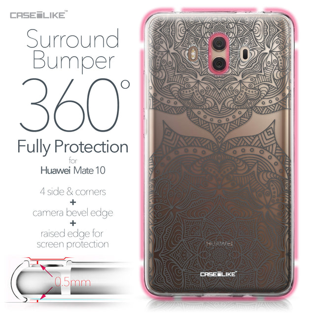 Huawei Mate 10 case Mandala Art 2304 Bumper Case Protection | CASEiLIKE.com