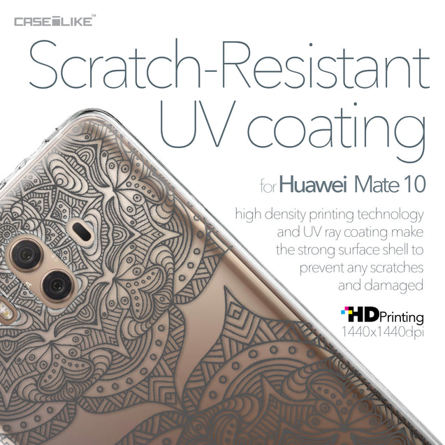 Huawei Mate 10 case Mandala Art 2304 with UV-Coating Scratch-Resistant Case | CASEiLIKE.com