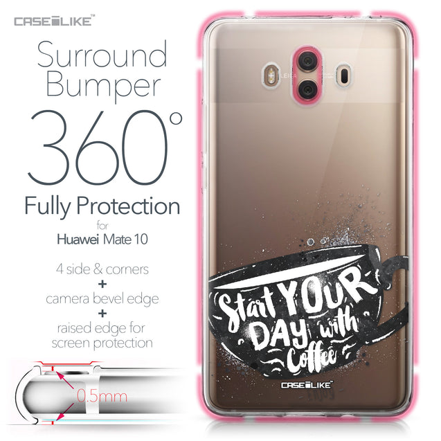 Huawei Mate 10 case Quote 2402 Bumper Case Protection | CASEiLIKE.com