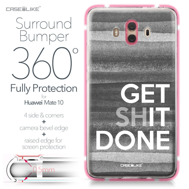 Huawei Mate 10 case Quote 2429 Bumper Case Protection | CASEiLIKE.com