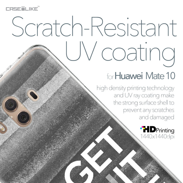 Huawei Mate 10 case Quote 2429 with UV-Coating Scratch-Resistant Case | CASEiLIKE.com