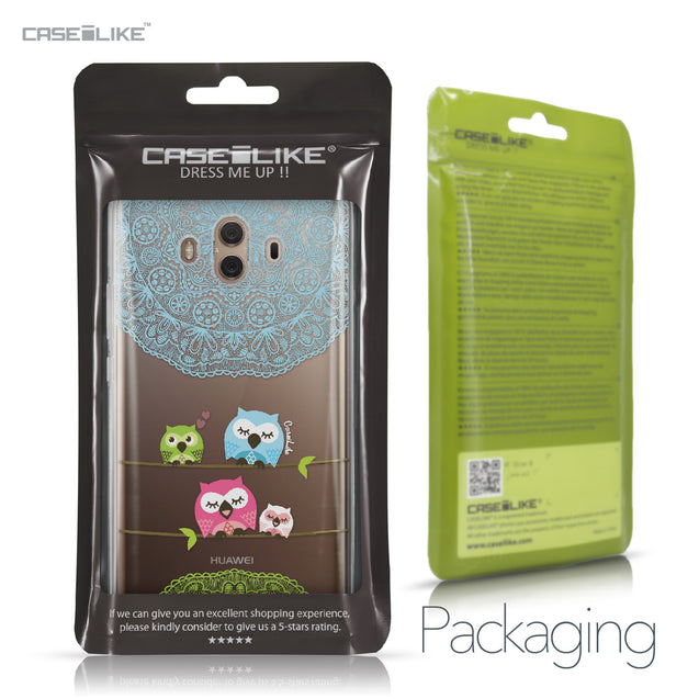 Huawei Mate 10 case Owl Graphic Design 3318 Retail Packaging | CASEiLIKE.com