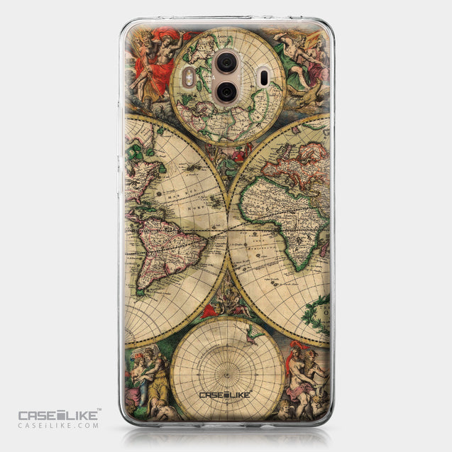 Huawei Mate 10 case World Map Vintage 4607 | CASEiLIKE.com