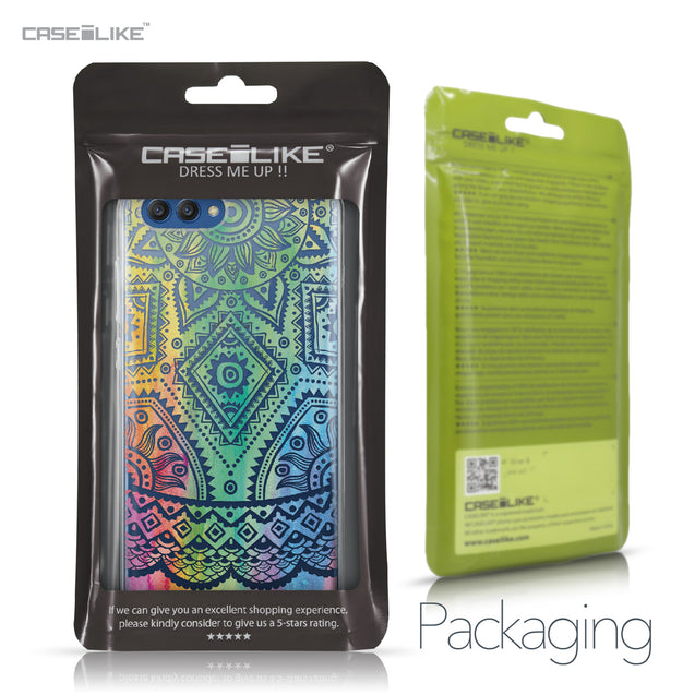 Huawei Honor View 10 case Indian Line Art 2064 Retail Packaging | CASEiLIKE.com