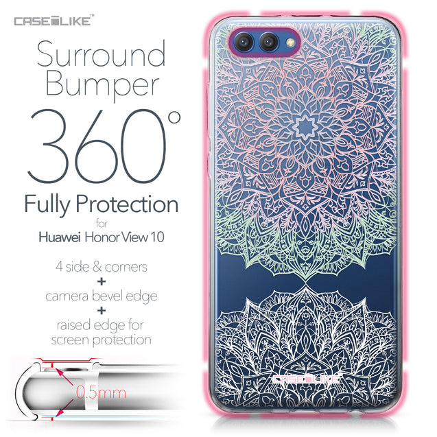 Huawei Honor View 10 case Mandala Art 2092 Bumper Case Protection | CASEiLIKE.com