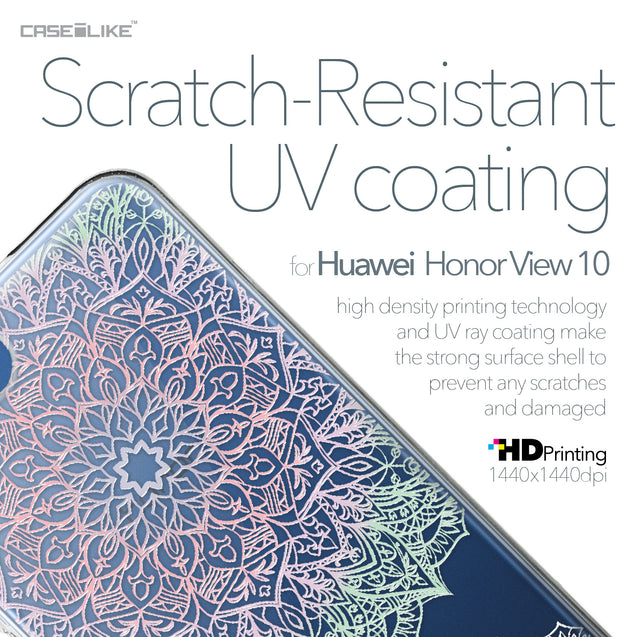 Huawei Honor View 10 case Mandala Art 2092 with UV-Coating Scratch-Resistant Case | CASEiLIKE.com