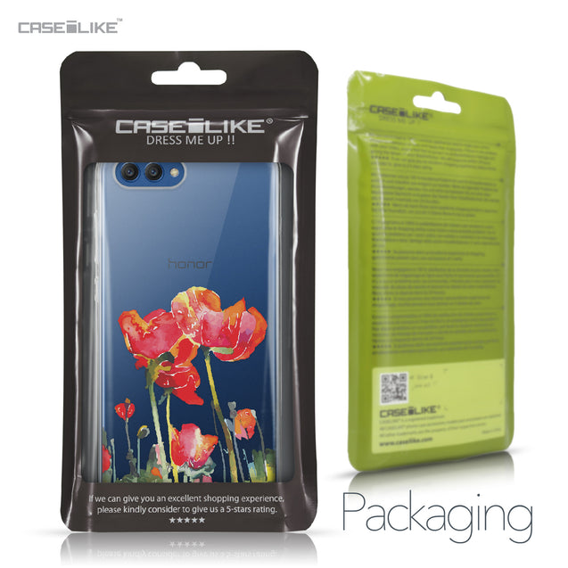 Huawei Honor View 10 case Watercolor Floral 2230 Retail Packaging | CASEiLIKE.com