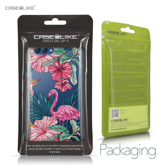Huawei Honor View 10 case Tropical Flamingo 2239 Retail Packaging | CASEiLIKE.com