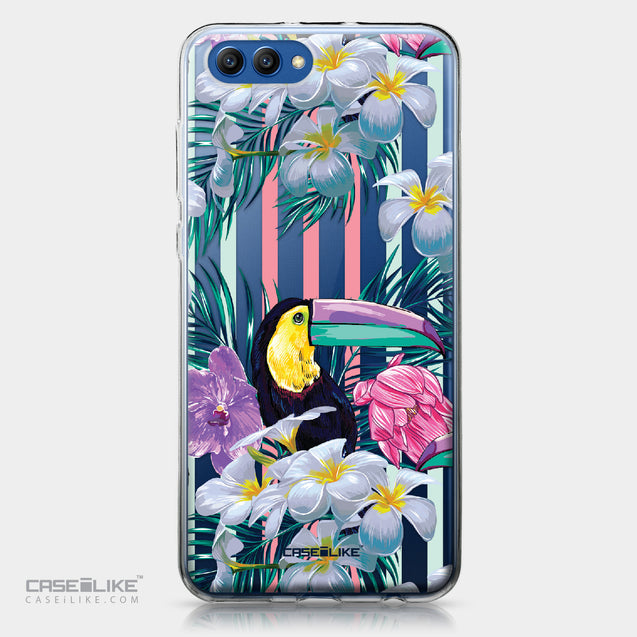 Huawei Honor View 10 case Tropical Floral 2240 | CASEiLIKE.com