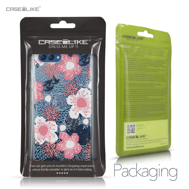 Huawei Honor View 10 case Japanese Floral 2255 Retail Packaging | CASEiLIKE.com