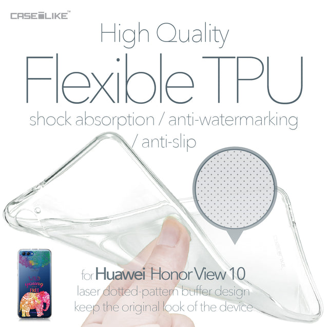 Huawei Honor View 10 case Mandala Art 2302 Soft Gel Silicone Case | CASEiLIKE.com