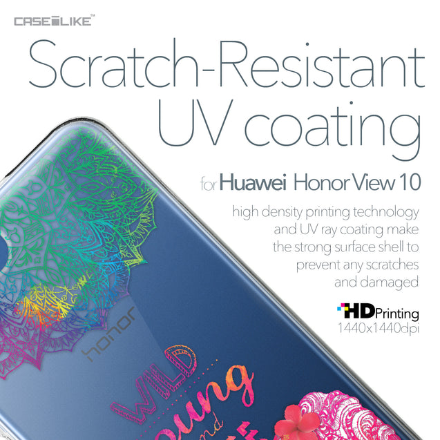 Huawei Honor View 10 case Mandala Art 2302 with UV-Coating Scratch-Resistant Case | CASEiLIKE.com