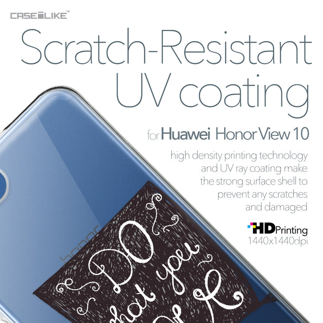 Huawei Honor View 10 case Quote 2400 with UV-Coating Scratch-Resistant Case | CASEiLIKE.com