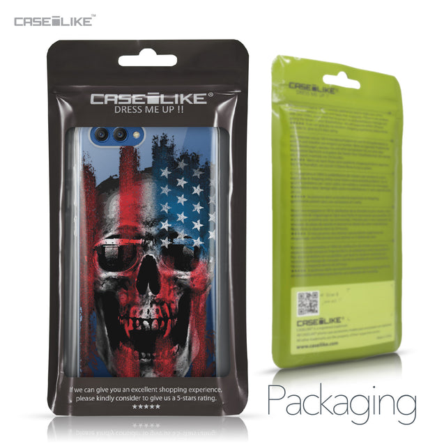 Huawei Honor View 10 case Art of Skull 2532 Retail Packaging | CASEiLIKE.com