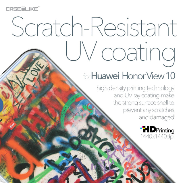 Huawei Honor View 10 case Graffiti 2721 with UV-Coating Scratch-Resistant Case | CASEiLIKE.com