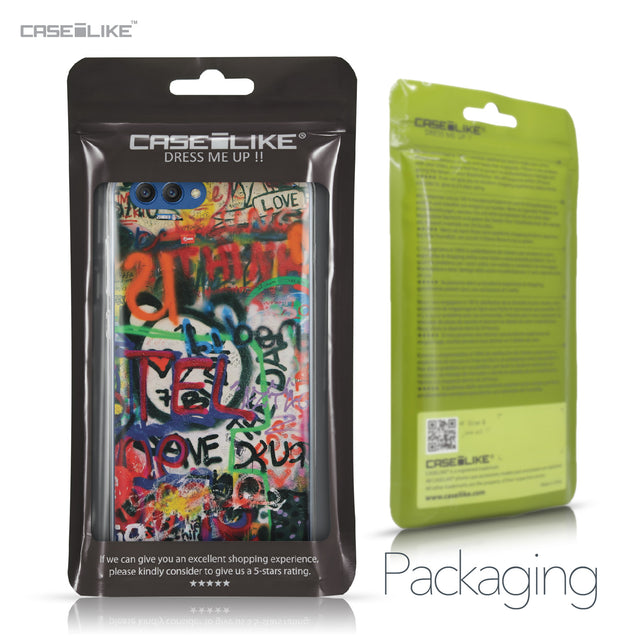 Huawei Honor View 10 case Graffiti 2721 Retail Packaging | CASEiLIKE.com