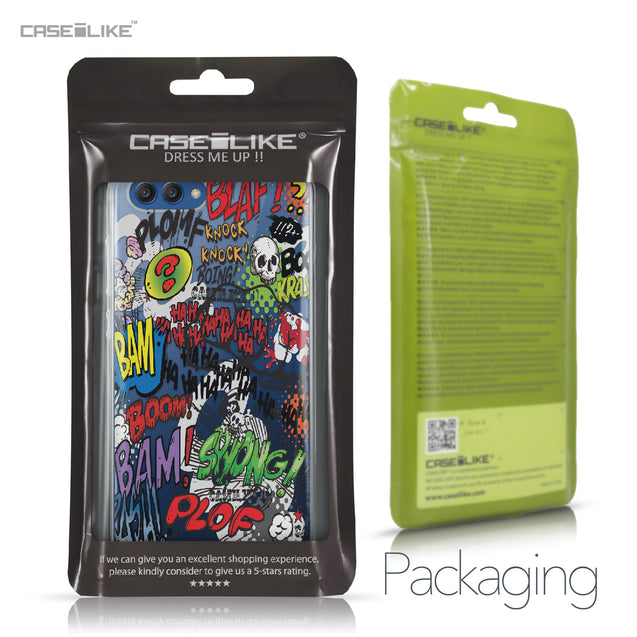Huawei Honor View 10 case Comic Captions 2914 Retail Packaging | CASEiLIKE.com