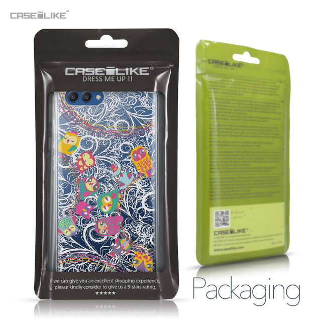 Huawei Honor View 10 case Owl Graphic Design 3316 Retail Packaging | CASEiLIKE.com