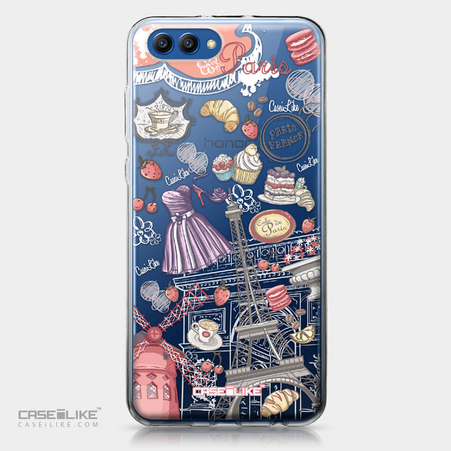 Huawei Honor View 10 case Paris Holiday 3907 | CASEiLIKE.com