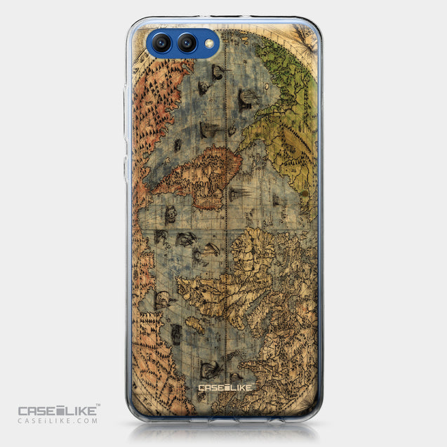Huawei Honor View 10 case World Map Vintage 4608 | CASEiLIKE.com