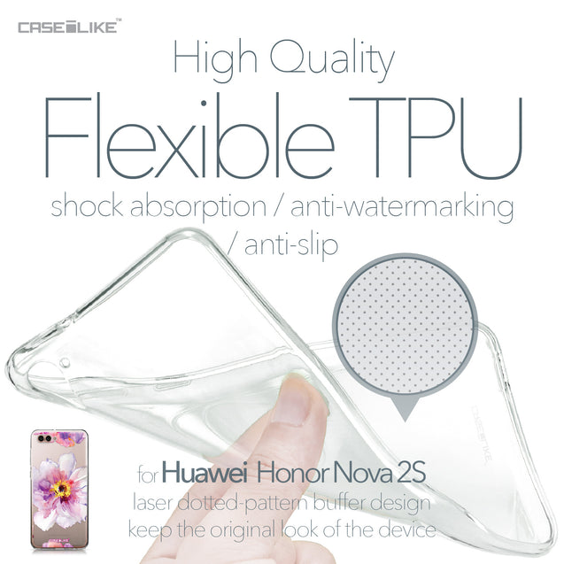 Huawei Nova 2S case Watercolor Floral 2231 Soft Gel Silicone Case | CASEiLIKE.com