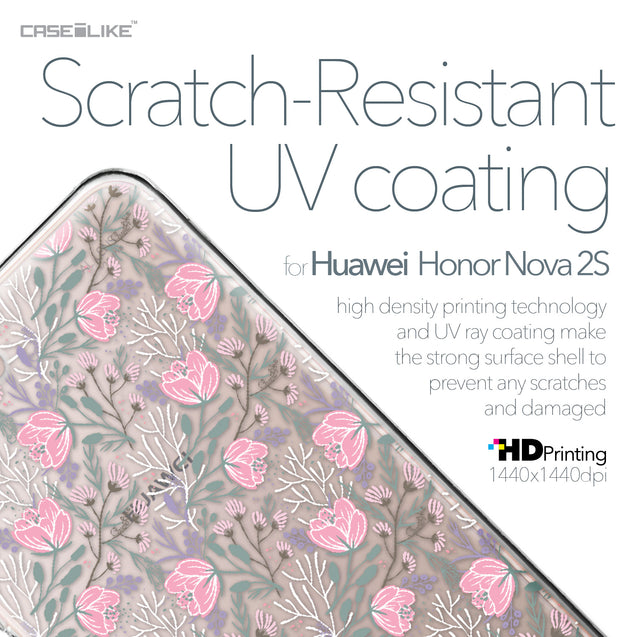 Huawei Nova 2S case Flowers Herbs 2246 with UV-Coating Scratch-Resistant Case | CASEiLIKE.com
