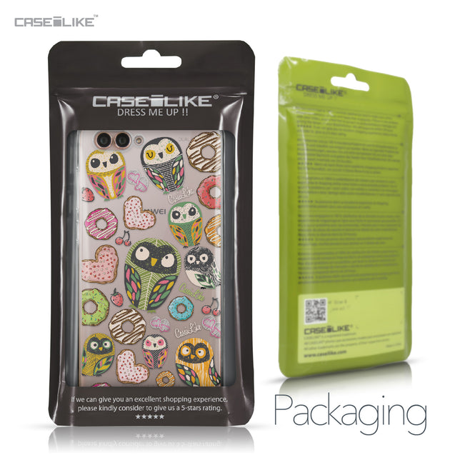 Huawei Nova 2S case Owl Graphic Design 3315 Retail Packaging | CASEiLIKE.com