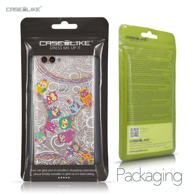 Huawei Nova 2S case Owl Graphic Design 3316 Retail Packaging | CASEiLIKE.com