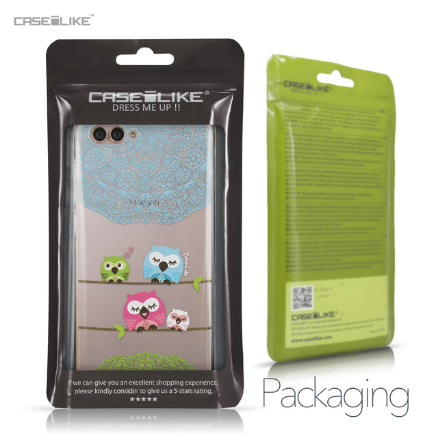 Huawei Nova 2S case Owl Graphic Design 3318 Retail Packaging | CASEiLIKE.com