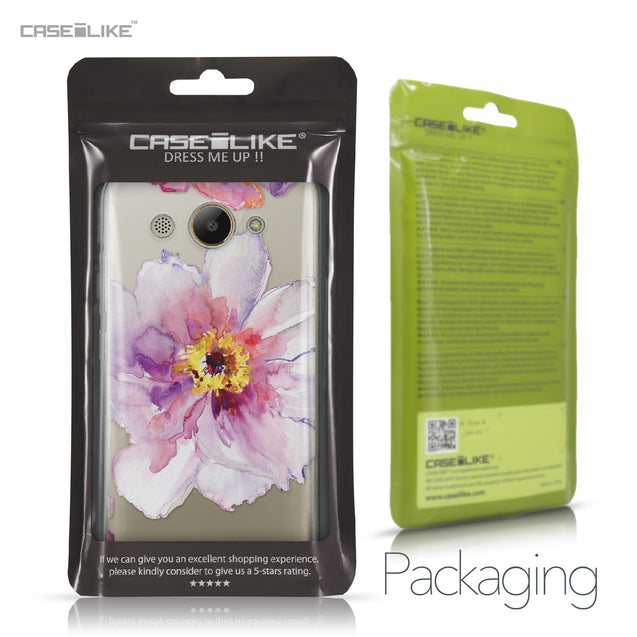 Huawei Y3 2017 case Watercolor Floral 2231 Retail Packaging | CASEiLIKE.com