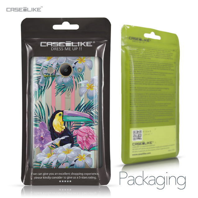 Huawei Y3 2017 case Tropical Floral 2240 Retail Packaging | CASEiLIKE.com