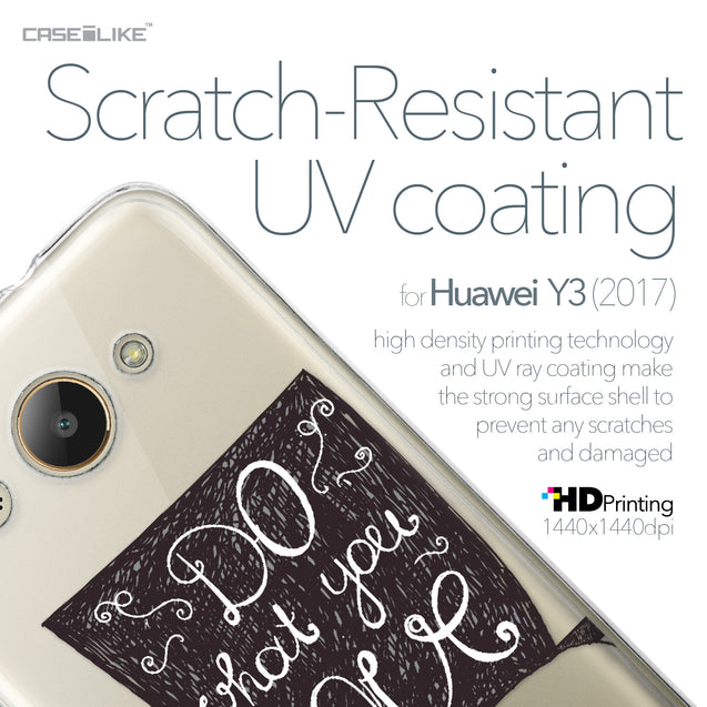 Huawei Y3 2017 case Quote 2400 with UV-Coating Scratch-Resistant Case | CASEiLIKE.com