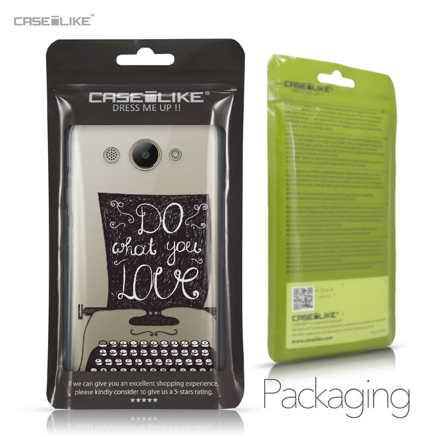 Huawei Y3 2017 case Quote 2400 Retail Packaging | CASEiLIKE.com