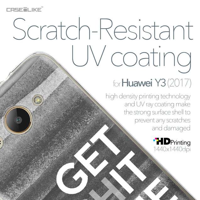 Huawei Y3 2017 case Quote 2429 with UV-Coating Scratch-Resistant Case | CASEiLIKE.com