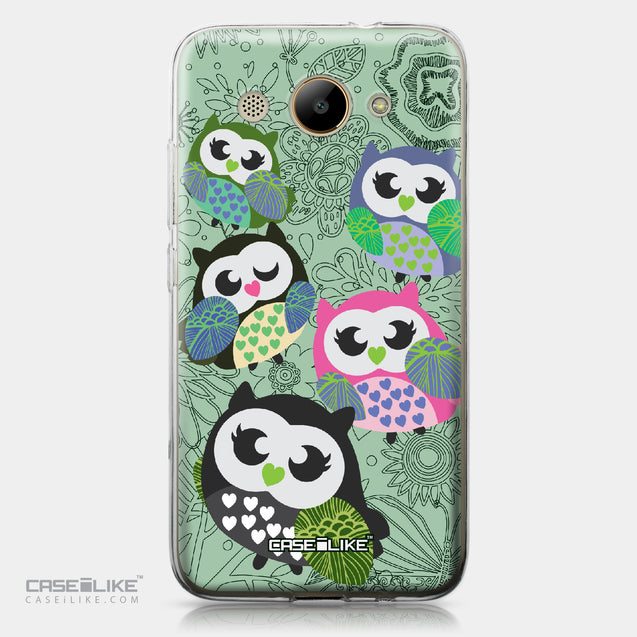 Huawei Y3 2017 case Owl Graphic Design 3313 | CASEiLIKE.com