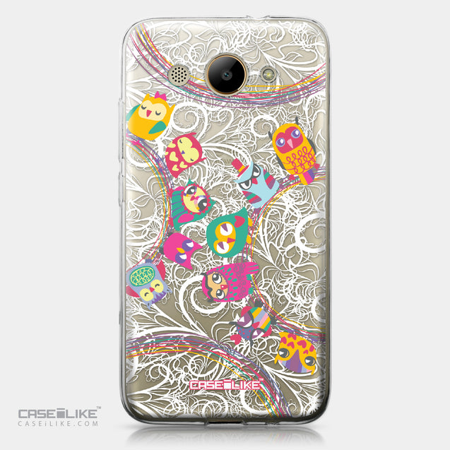 Huawei Y3 2017 case Owl Graphic Design 3316 | CASEiLIKE.com