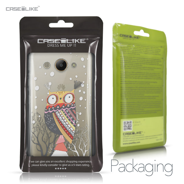 Huawei Y3 2017 case Owl Graphic Design 3317 Retail Packaging | CASEiLIKE.com