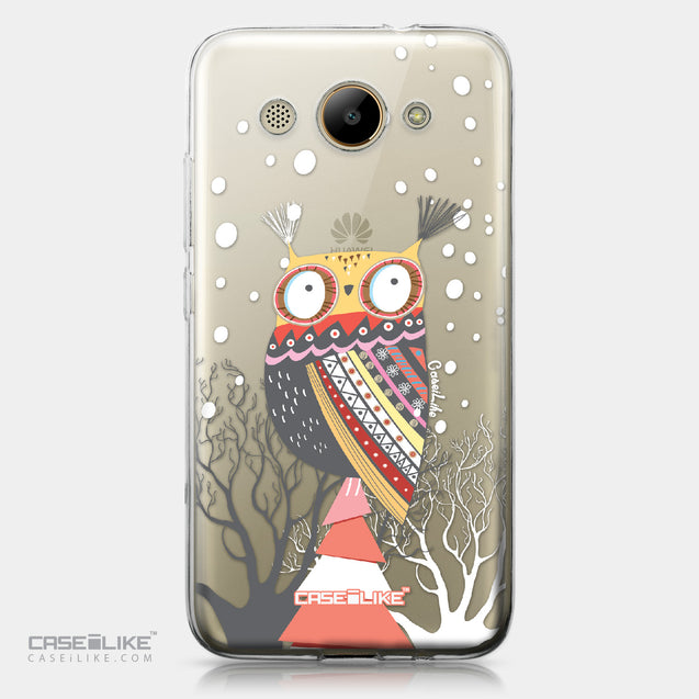Huawei Y3 2017 case Owl Graphic Design 3317 | CASEiLIKE.com