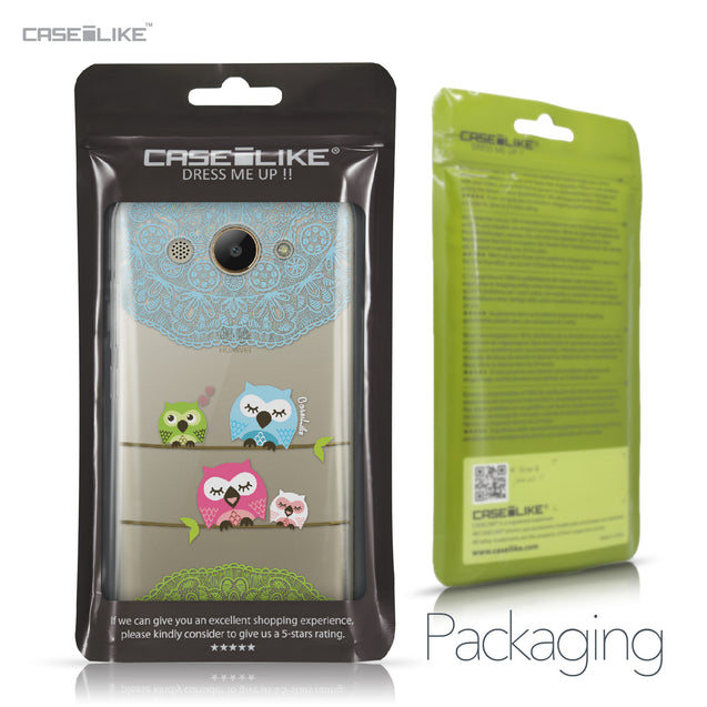 Huawei Y3 2017 case Owl Graphic Design 3318 Retail Packaging | CASEiLIKE.com