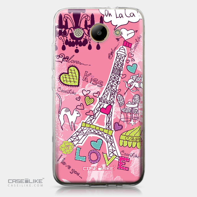Huawei Y3 2017 case Paris Holiday 3905 | CASEiLIKE.com