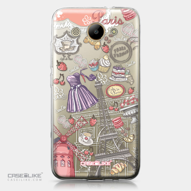 Huawei Y3 2017 case Paris Holiday 3907 | CASEiLIKE.com